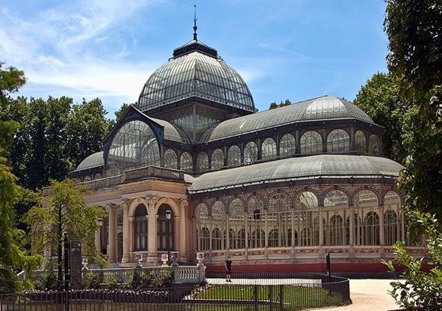 Palacio de Cristal-Parque del Retiro, Madrid