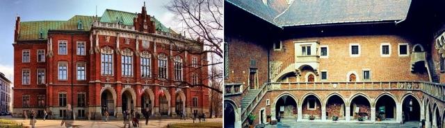 Universidad Jaguelónica fundada en 1364, Cracovia