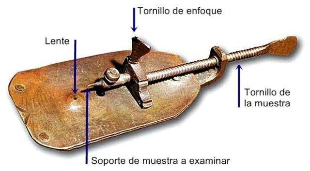 Microscopio de Anthony Leeuwenhoek
