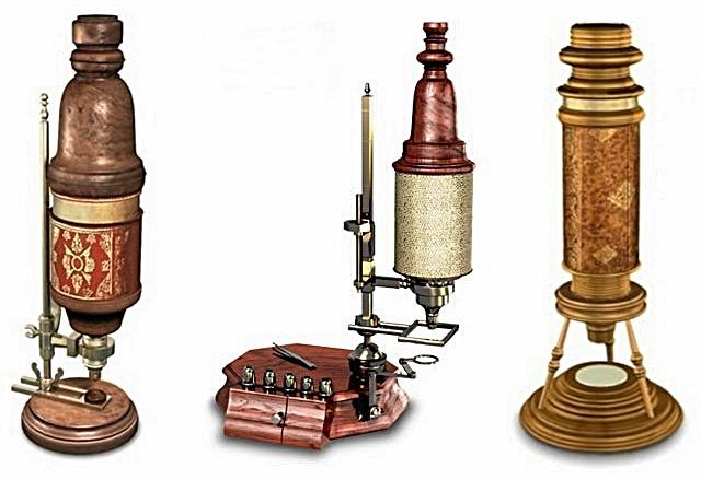 Microscopios, siglo XVII