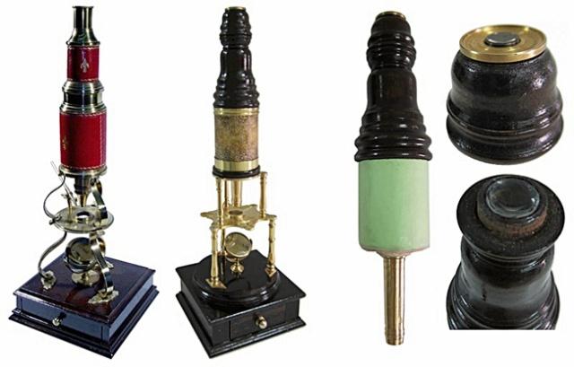 Microscopios de Edmun Culpeper