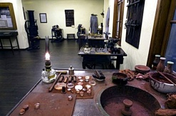 Deutschland Thueringen Jena Carl-Zeiss-Platz Optisches Museum historische Zeiss-Werkstatt