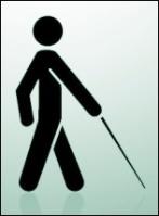 Logo de ceguera