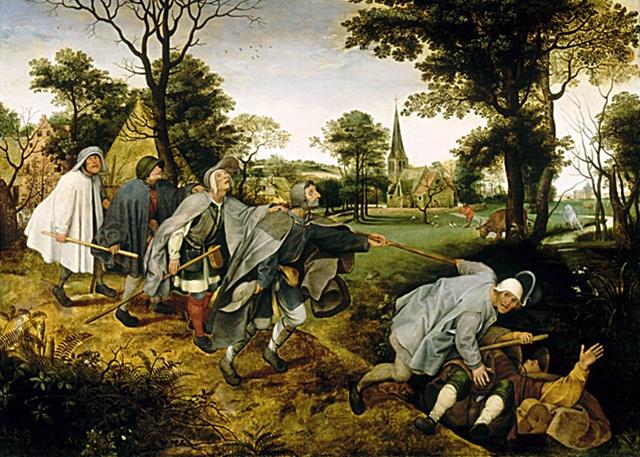 Parábola de los ciegos-Pieter Brueghel