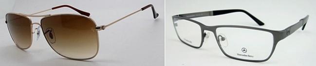 Gafas metálicas