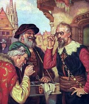 Vendedor de gafas