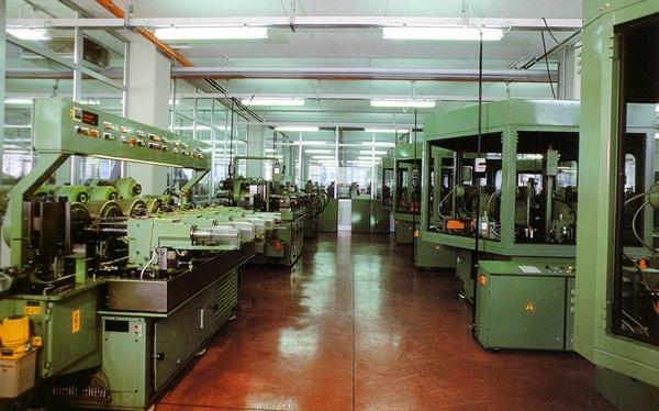 Maquinaria de fabricación de varillas