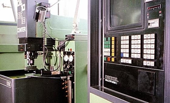 Maquinaria para la producción de moldes
