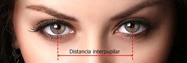 Distancia pupilar