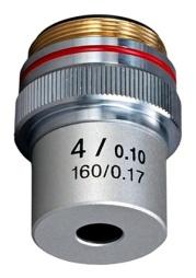 Objetivo-4X-Microscopio-Acromatico