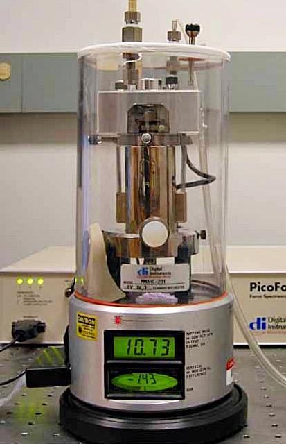 Microscopio De Fuerza Atomica Afm