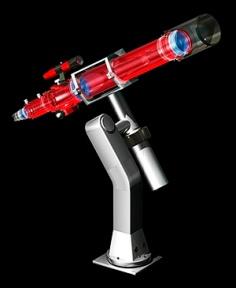 refracting-telescope-artwork-carlos-clarivan