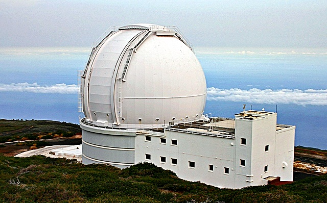 William_herschel_Telescopio